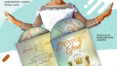 Photo of [Album Release] Sovereign God By Lanre Shedowo