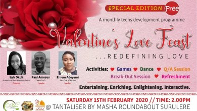 Photo of Valentine love feast hosted by Ijeh Okoli
