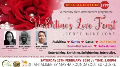 Photo of Valentine love feast hosted by Ijeh Okoli