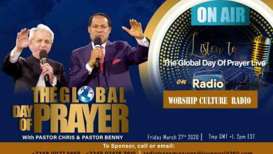 Photo of Watch Live Transmission of Global Day Of Prayer With Pastor Chris and Benny Hinn