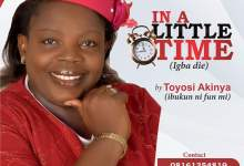 Photo of [Audio] In A Little Time By Toyosi Akinya