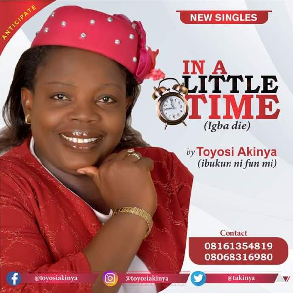 In A Little Time By Toyosi Akinya