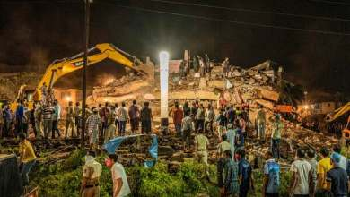 Photo of India Building Collapse, Leaves Scores Dead While Others Trapped.