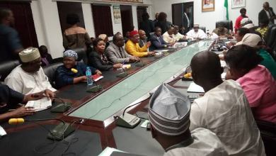Photo of ASSU Strike: ASUU And Senate Having A Closed Door Session.