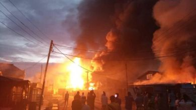 Photo of Massive Gas Station Explosion Hits Ipaja, Lagos.
