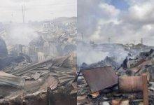 Photo of Again Fire Razes Shops, Goods Worth Millions In Osun Market.