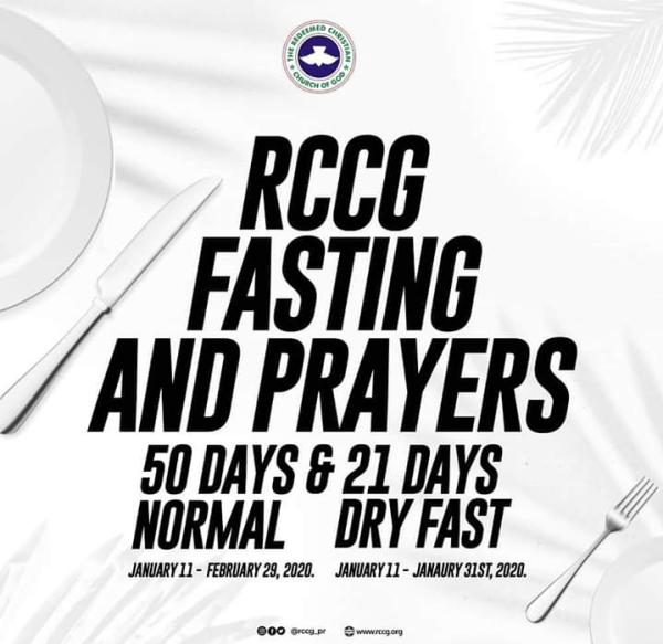 RCCG PRAYER AND FASTING