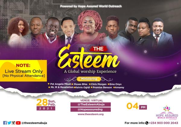 The Esteem Live Worship Concert The Virtual Edition