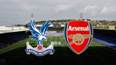 Photo of TODAY'S MATCH: Crystal Palace Vs Arsenal 7:00pm