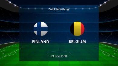 Photo of TODAY'S MATCH: Finland VS Belgium 8:00PM