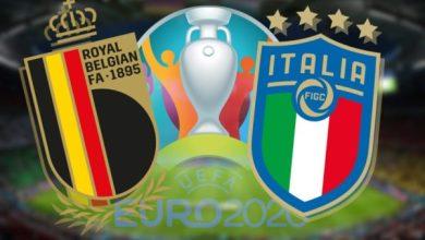 Photo of TODAY'S MATCH: Belgium VS Italy 8:00PM