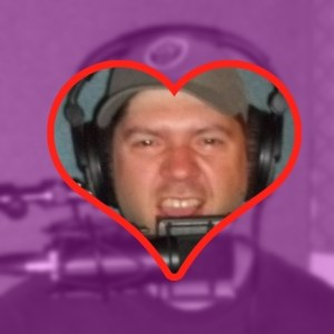 Josh Martin's face in a heart