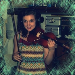 Samantha Gates on the Worst Little Podcast in the world with a fiddle!