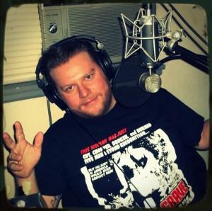 Miles Lundahl, singer for Countress - a Reno NV metal/hardcore band