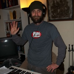 Pat Mayfield on the keys