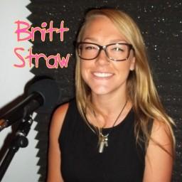 Picture Text: Britt Straw