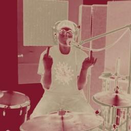 Nic Ramirez, drummer for Roxxy Collie
