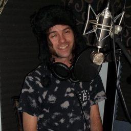 Glynn Osburn winking on the Worst Little Podcast