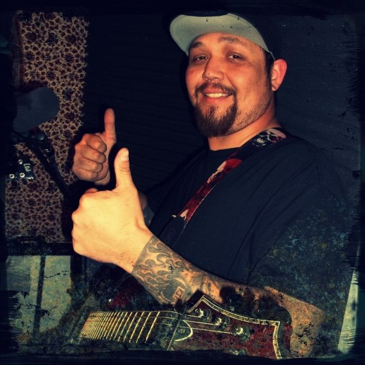 Daryl Smith of Reno Nevada band Down and Out gives Worst Little Podcast two thumbs up.