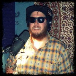 The Duke of Reno based Hip Hop group, Redfield Clipper being interviewed at Dogwater Studio.