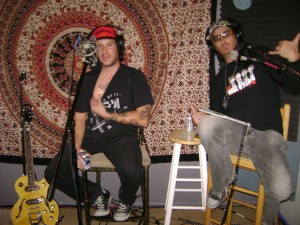 Matt Bode, Nick Ramirez and a nipple at the Dogwater Studios