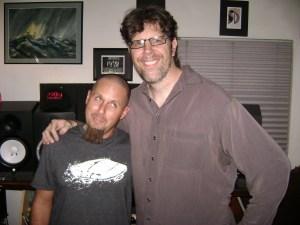 Tom Gordon of Imirage Sound lab and Rick Spagnola of Dogwater Studios