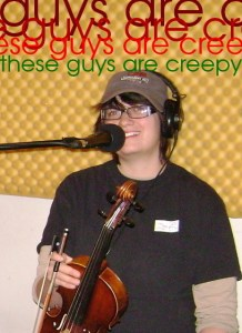 Kristin Pitman - these guys are creepy