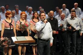 Sascha Benner, der Vorsitzende des Lüdenscheider Männerchores. (Foto: Björn Othlinghaus)