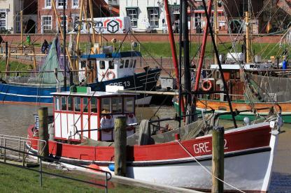 Der Greetsieler Hafen. (Foto: Björn Othlinghaus)