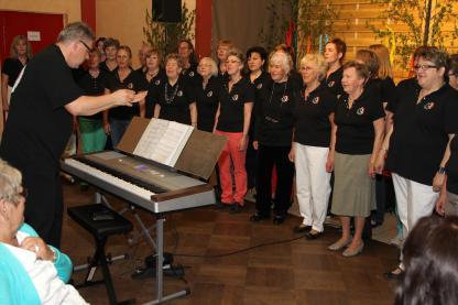 Der Frauenchor Cantabile. (Foto: Björn Othlinghaus)