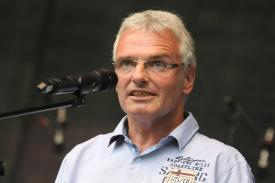 Michael Brosch, Bürgermeister der Stadt Halver. (Foto: Björn Othlinghaus)