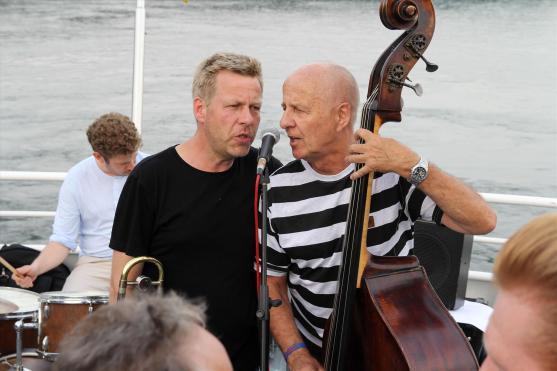 Die Zwillinge - Jazzuniversität. (Foto: Björn Othlinghaus)