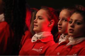 Lüdenscheider Kinderchor und Mädels deLüKCs. (Foto: Björn Othlinghaus)