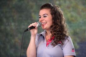 Radio-MK-Moderatorin Lucia Carogioiello. (Foto: Björn Othlinghaus)