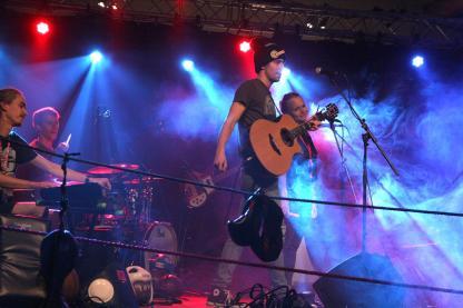Basti Schank & Band. (Foto: Björn Othlinghaus)