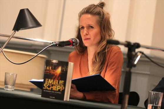 Schauspielerin Julia Nachtmann. (Foto: Björn Othlinghaus)