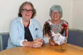 Jürgen Wigginghaus und Nanni Lange. (Foto: Björn Othlinghaus)