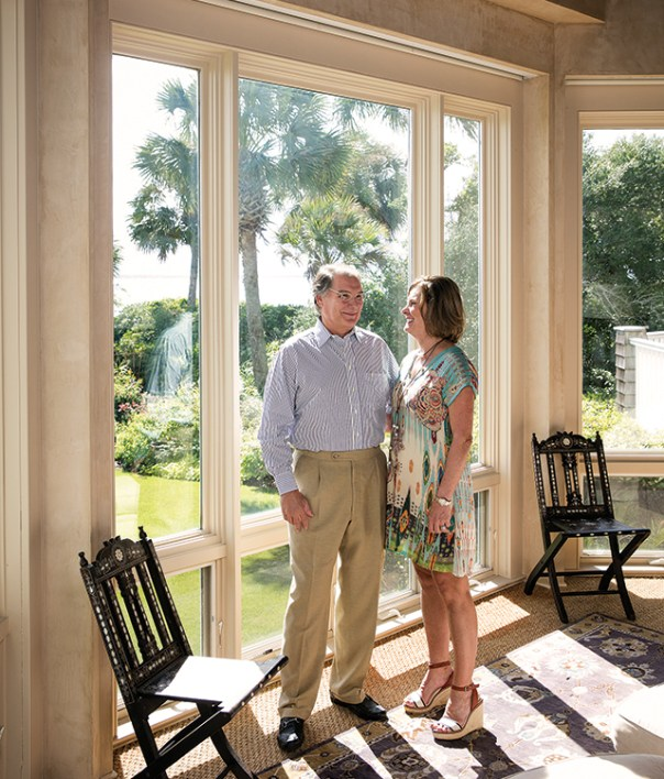 Buddy Darby and his wife Tammy, at their home in South Carolina.