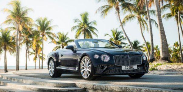 Bentley Continental GT Convertible. Photo courtesy of Bentley