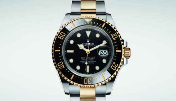 Rolex Sea-Dweller Two-Tone Steel and Yellow Gold, Luxury Sport Watches