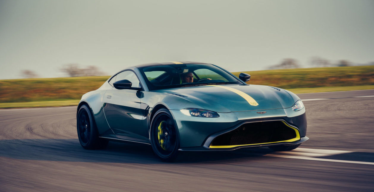 Aston Martin Remembers The Thrill Of The Stick Shift Worth