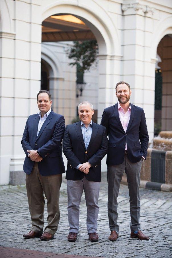 PURE cofounders: Ross Buchmueller, Jeffrey Paraschac and Martin Hartley