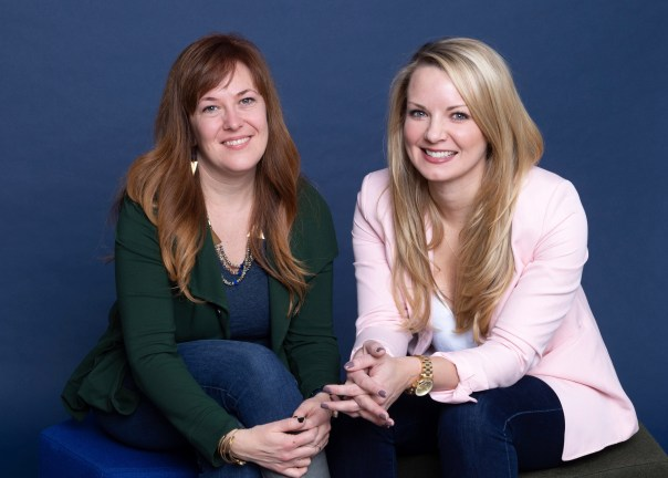 Mina Families, which offers alternative birthing experiences, is led by CEO Kristen Womack (L) and COO Terryn Lawrence (R).