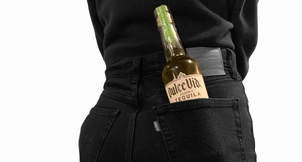Corona doppelganger? From a few yards away, a 375 mL bottle of Dulce Vida stuck in a back pocket could easily pass for a bottle of the popular Mexican cerveza. Photo by Arick Wierson for Worth