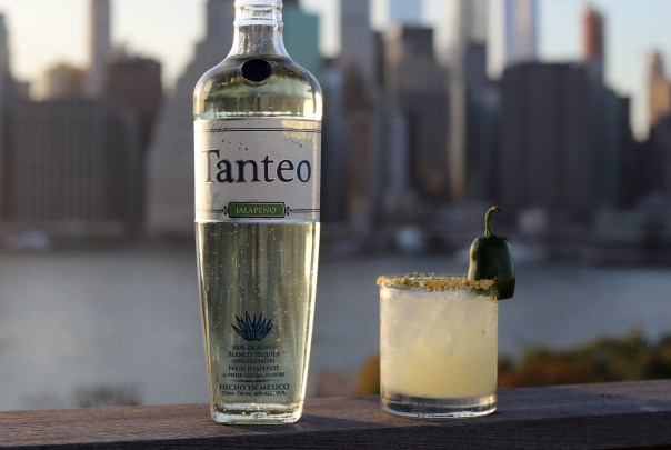Tanteo Jalapeño cuts no corners when it comes to production, resulting in a sweet and spicy tequila that will heat up the coming winter months. Photo courtesy of Tanteo
