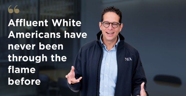 Ben Narasin believes that although people of color suffered more of the physical impact of COVID-19, it will be white Americans who will bear the brunt of the on-going mental health crisis. Photo courtesy of NEA