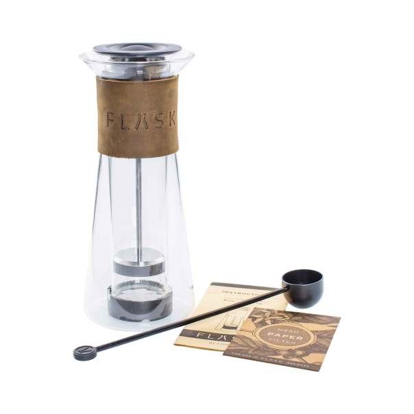 Dads who are coffee aficionados will enjoy the FLASK French press. Image courtesy of ethoz/Planetary Design