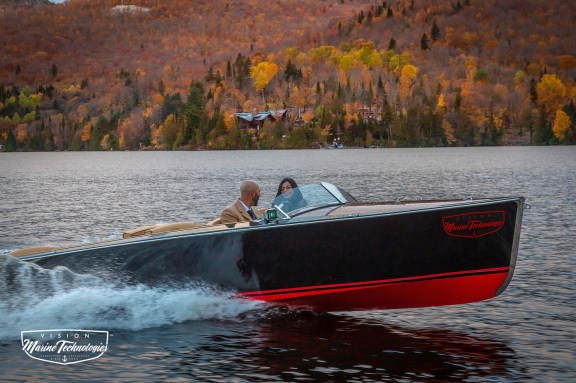 luxury electric boating