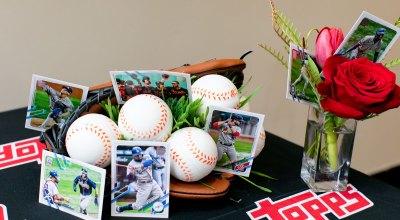 Topps baseball card event