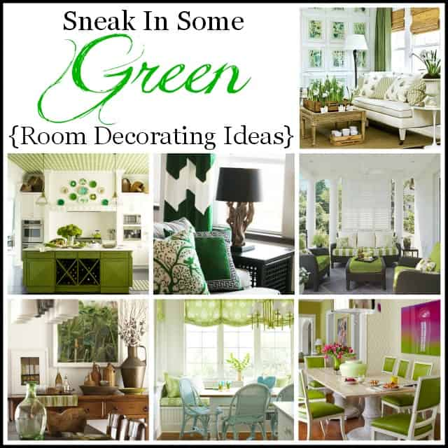 Green room decorating ideas :: WorthingCourtBlog.com